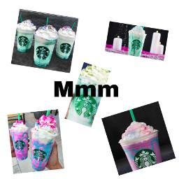 mmm starbucks crystalballfrap unicornfrappuccino