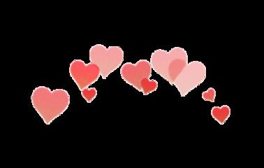 red hearts head aesthetic tumblr freetoedit