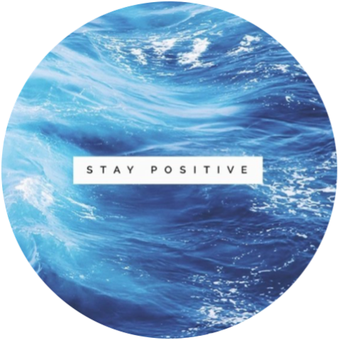 Positive Quotes Water Aesthetic Background Happyqu