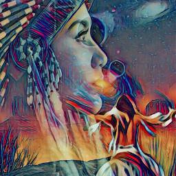 srcetherealplanet etherealplanet freetoedit indian indianart