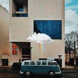 freetoedit berlin vacation bigcitylife life car cloud rainbow editit