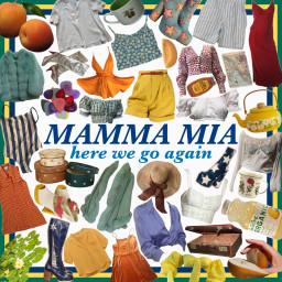 freetoedit mammamia mammamia2 moodboard tropical
