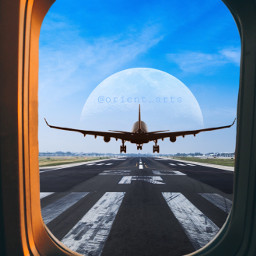 freetoedit travel runway airport airplane