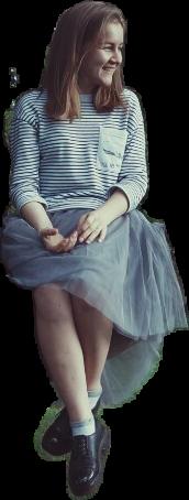 freetoedit girl sitting