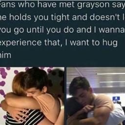 dolantwins hug cute graysondolan grayson