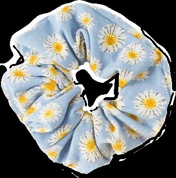Dev77713 Aesthetic Daisies Flowers Scrunchies Cute