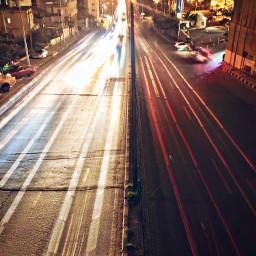 iphonex night cars light red freetoedit
