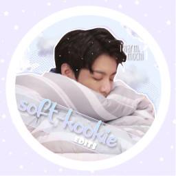 softkookiesiconchallenge kpop kpopedit kpopicon korean bts btsjeonjungkook jungkook jeonjungkook pastel dreamy stars
