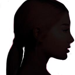 freetoedit doubleexposure shilouette remixit girl