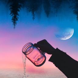 freetoedit asthetic ocean backrounds jars