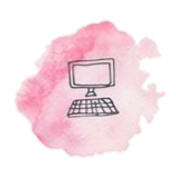 computer pink study online freetoedit
