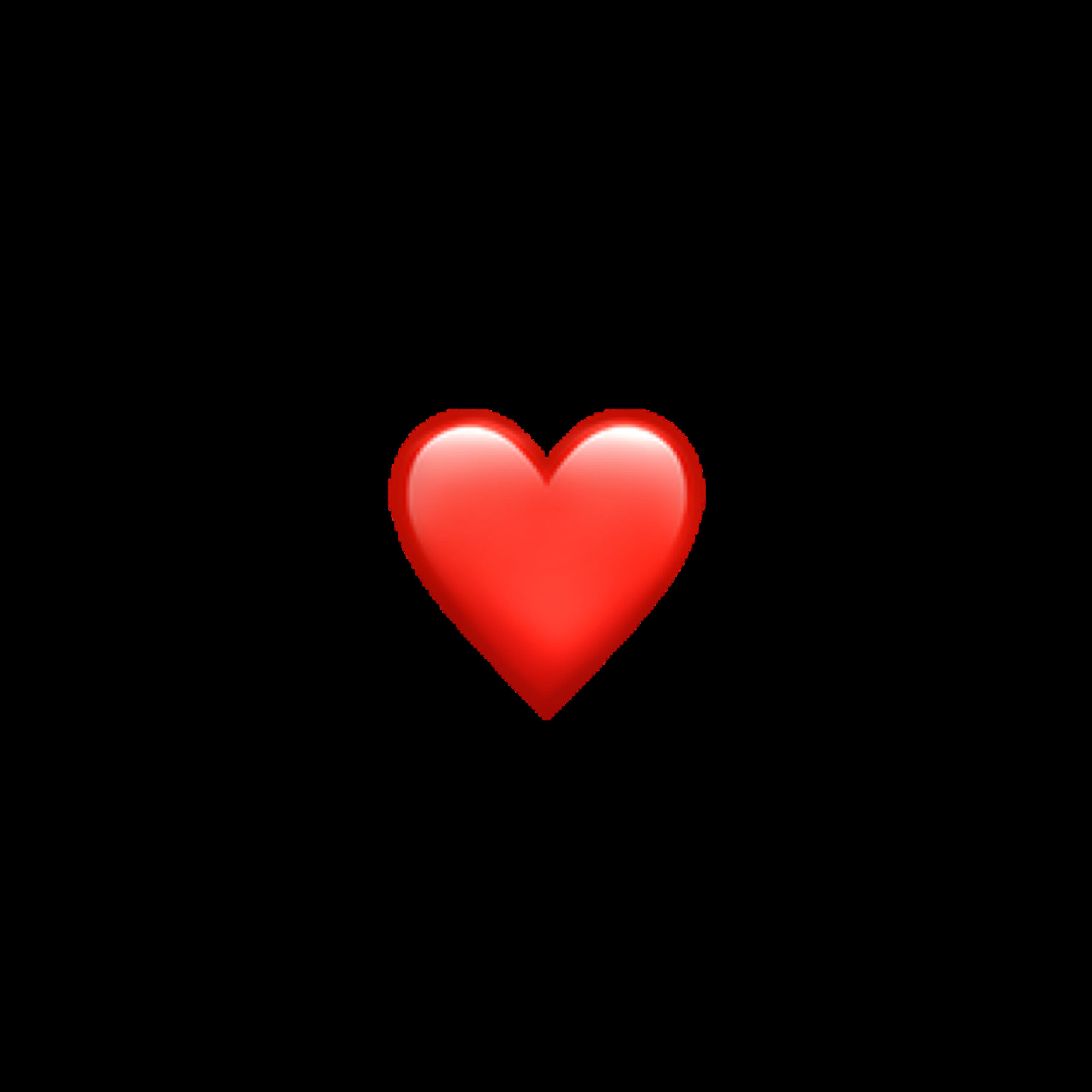 Heart Red Emoji Iphone Freetoedit