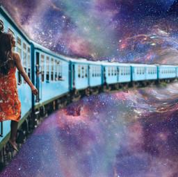 ircpurplegalaxy purplegalaxy freetoedit train edit