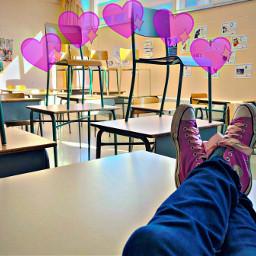 winterbreak converseshoes classroom hearts school schoolout freetoedit