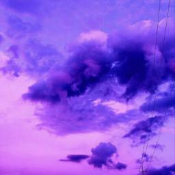 freetoedit morado purple cielo tumblr
