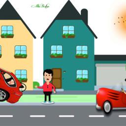 illustration adobeillustrator vectorgtaphics flatdesign houses