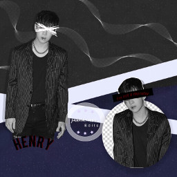 henry henrylau blue black