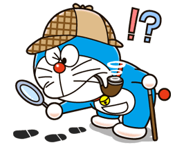 doraemon detective foot paws freetoedit