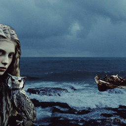 freetoedit gothic fineart fineartphotography sea