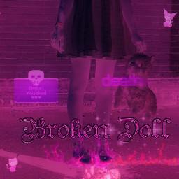 freetoedit gore doll blood brn scary scenecore