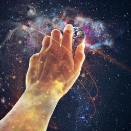 freetoedit hand arm god space