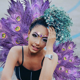 carnaval carnival extra feathers jewels freetoedit