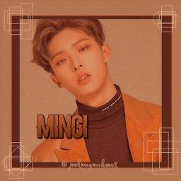 songmingi ateez lightbrown darkbrown