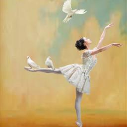 freetoedit ballerina artistic work myedit