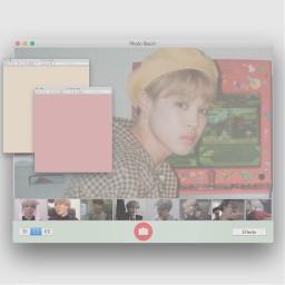 bts jimin parkjimin btsjimin apple photobooth freetoedit internet windows vaporwave sorta aesthetic