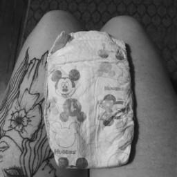 newborn diaper cantwait mylittleone gothmommy freetoedit