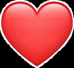heart herz red redheart emoji freetoedit