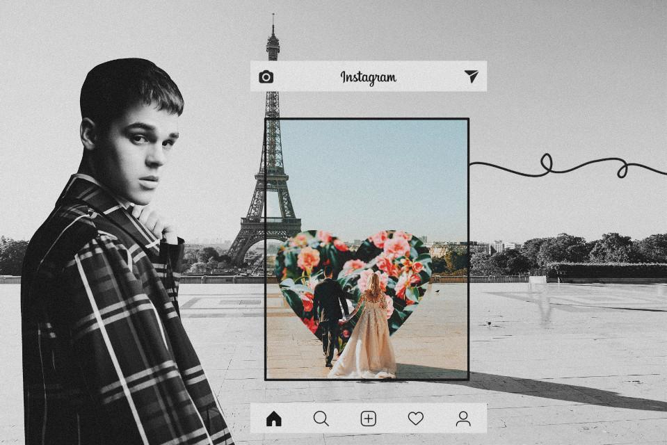 -💖 @ajmitchell  . . . . . . . #freetoedit #interesting #ajmitchellfanart #love #paris #instagram #tumblr #edit #fanart #colors #blackandwhite #editedbyme #flowers #ecallmyfriends #allmyfriends
