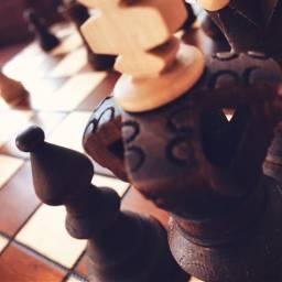 chess chessboard chessfigures brownandwhite myphoto