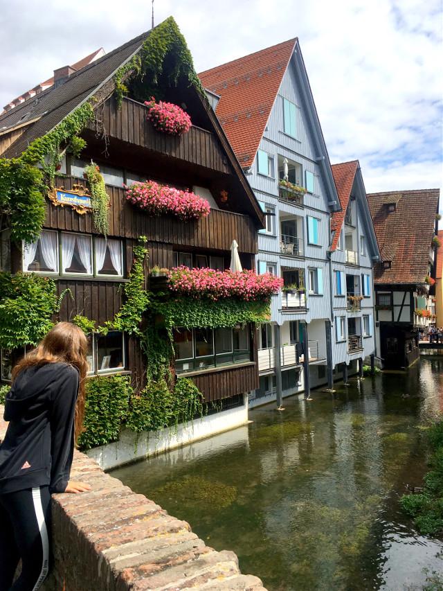 #stroll #city #ulm #germany