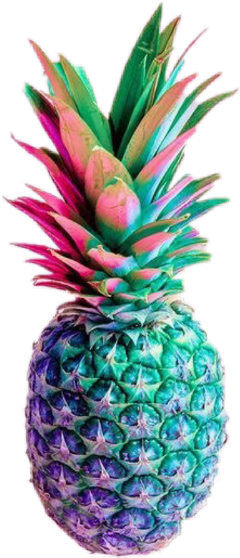ananas fruit freetoedit pineapple colourful