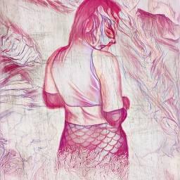 freetoedit siren mermaid figther strongwomen ecfiercewomen