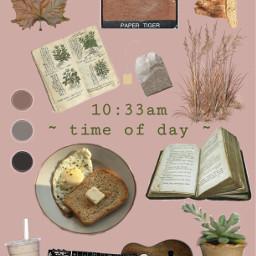 morning timeofday time brown brownaesthetic freetoedit