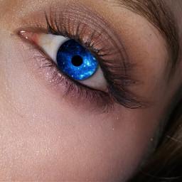 freetoedit eyes blueeyes galaxyeyes