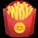 fries emoji food chips frenchfries freetoedit