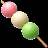 dango emoji food pink white freetoedit