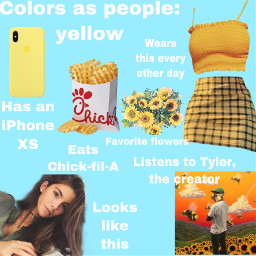 freetoeditim yellow tylerthecreator trendy brownhair freetoedit