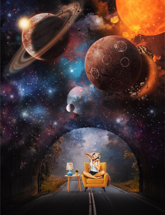 #freetoedit #myedit #edit #surreal #space #galaxy #edited #stars