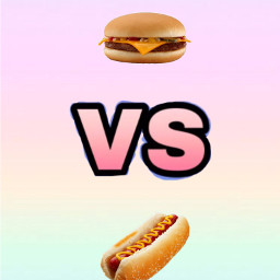 freetoedit vs hotdog hamburger