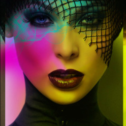 abstractart lady colored madewithpicsart colorfull freetoedit