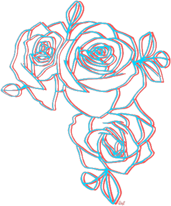 Roses Glitch Aesthetic Png Tumblr Goals