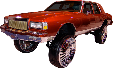 chevy caprice donk chrome freetoedit