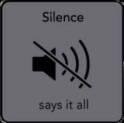 silence saysitall music still quietly freetoedit