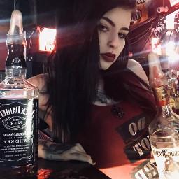 kaylamorbid alternativegirl alternativemodel tattooed pierced freetoedit