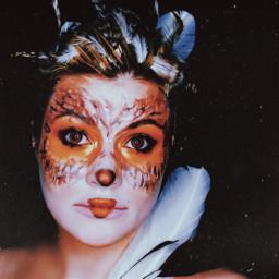 freetoedit owl makeupartist artisticmakeup funwithmakeup
