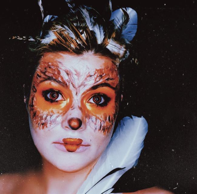 #freetoedit #owl #makeupartist #artisticmakeup #funwithmakeup #makeupart